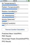 Thermal Comfort PMV Calculator